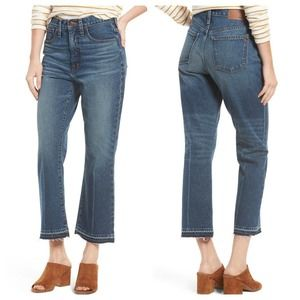 Madewell Retro Crop Bootcut Jeans